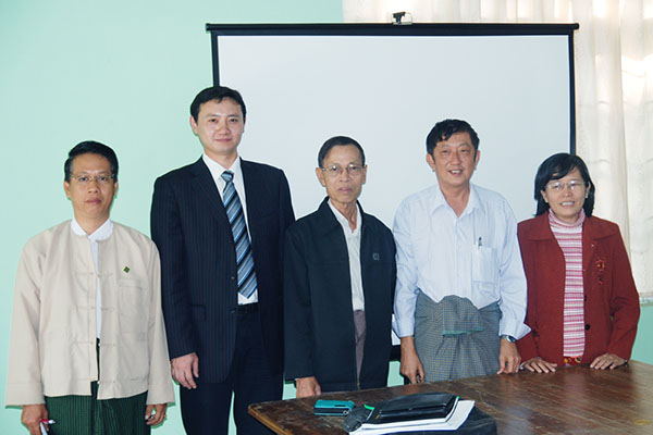 Meeting of the Ministry of Water Resources of Myanmar