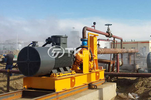 005 Dry Self Priming pump for Aksu Oil Field